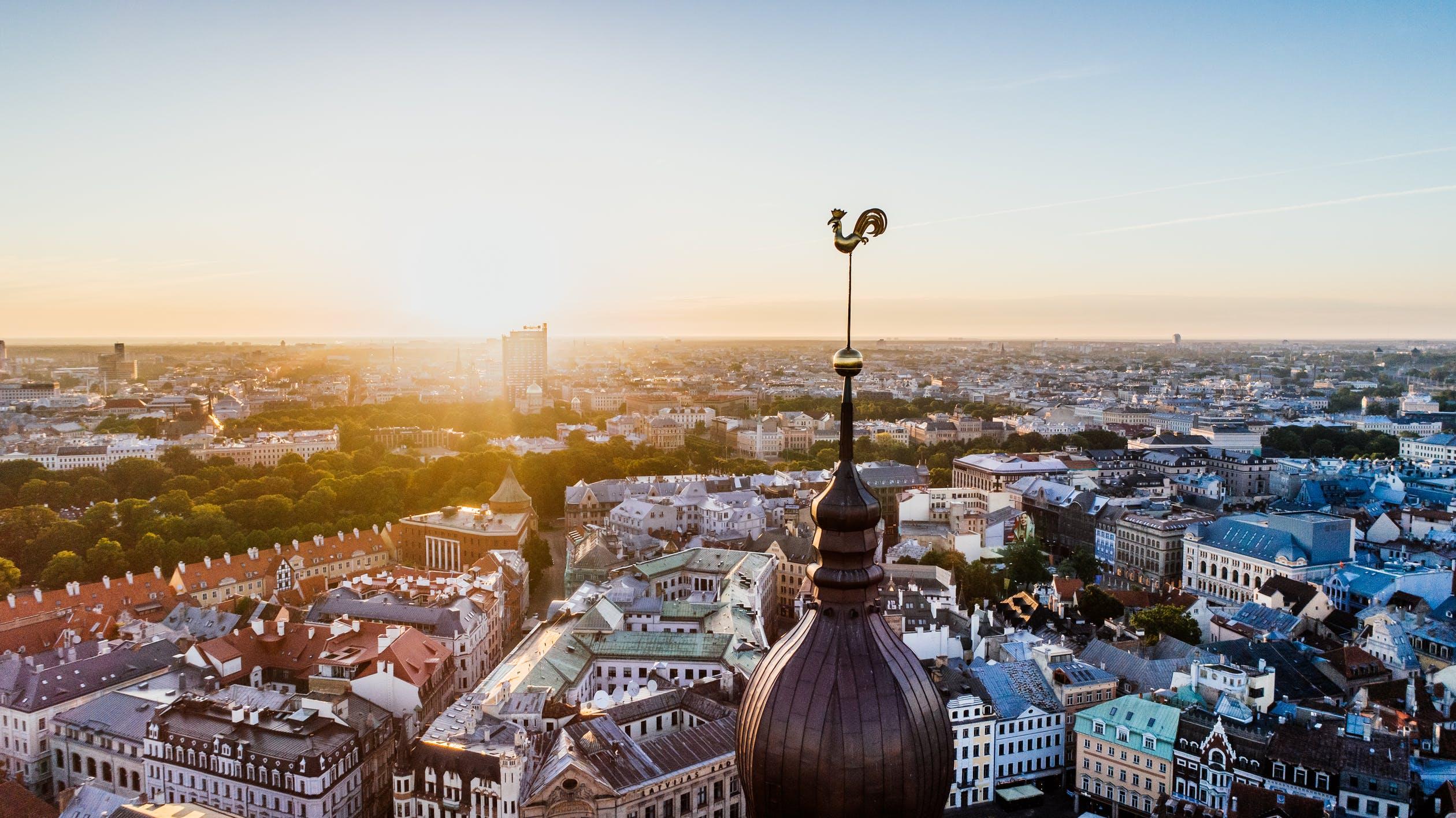 Best flight deals out of Riga (Lativa).